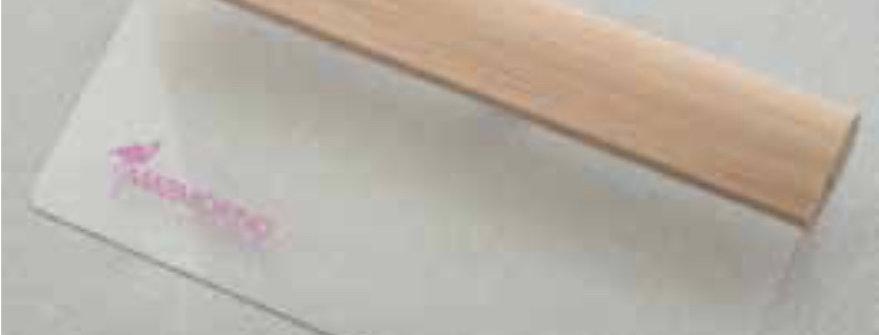 Marmorino Tools / Kunststoffrakel für dekorative Effekte