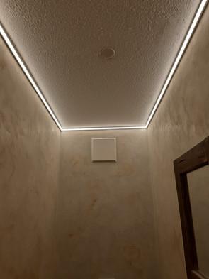 LED Beleuchtung Gästebad