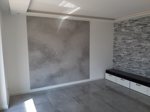 Aluminiumlasur auf Beton
