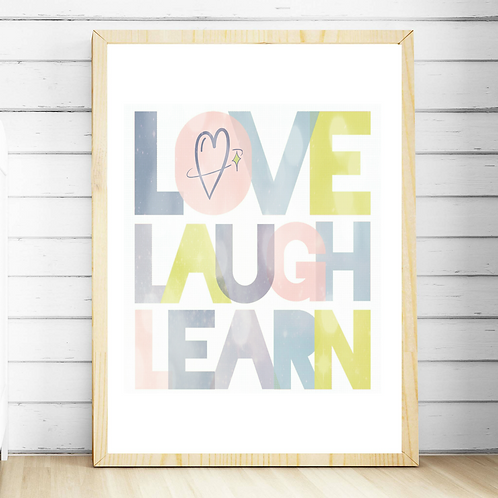 Love Laugh Learn