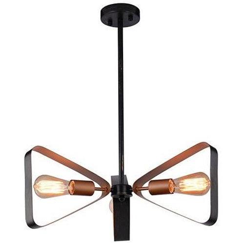 Lámpara triangular