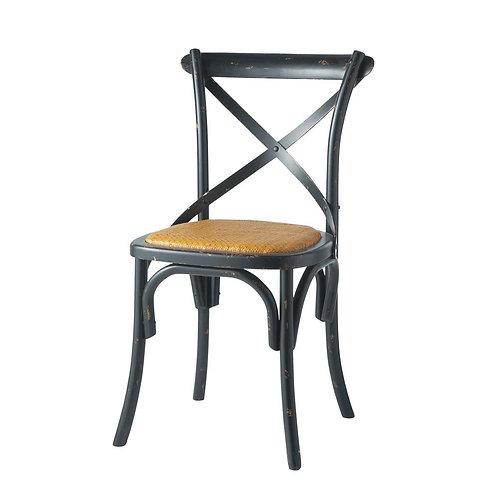 Silla negra vintage