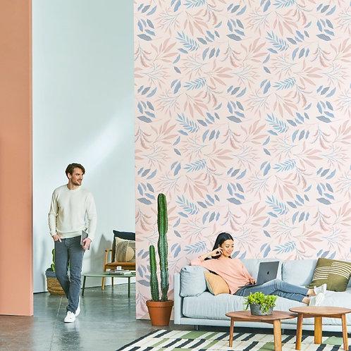Papel tapiz hojas