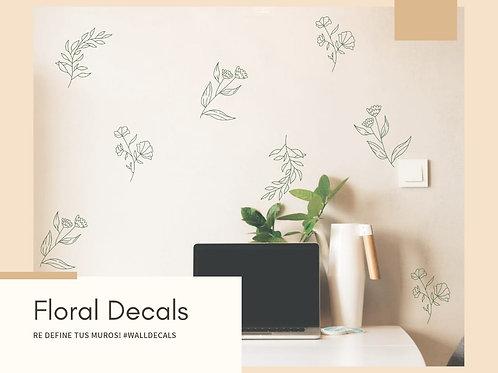 Decals floral