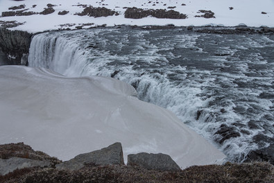 8. Dettifoss on Jokulsa a Fjullum River.