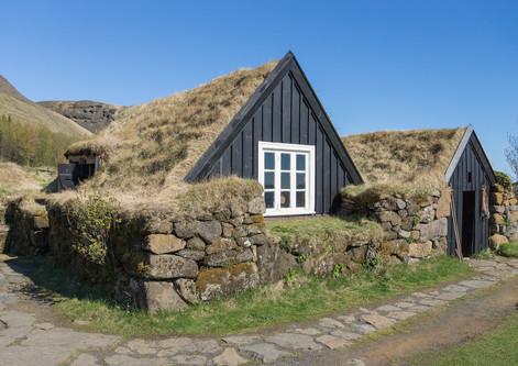 23. Turf Houses – Skogar Museum.