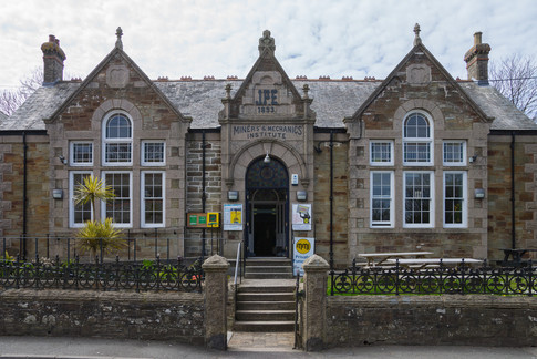 20. Miners and Mechanics Institute: St Agnes.