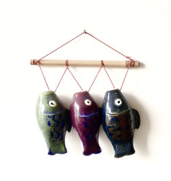 Three Fish In A Row