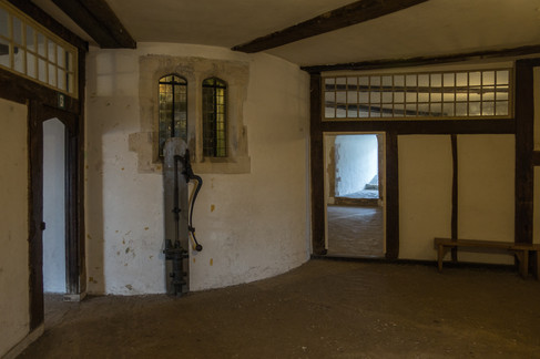 6. Deal Castle Tower: Interior.