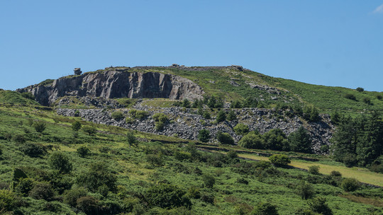 5. Cheesewring stone quarry.