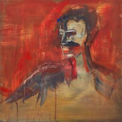 Red Neck 2017 Acrylic on board 40 x 40 cm_edited