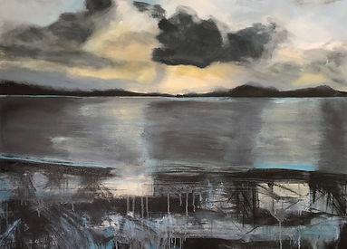 Towards Kirkcudbright, Evening