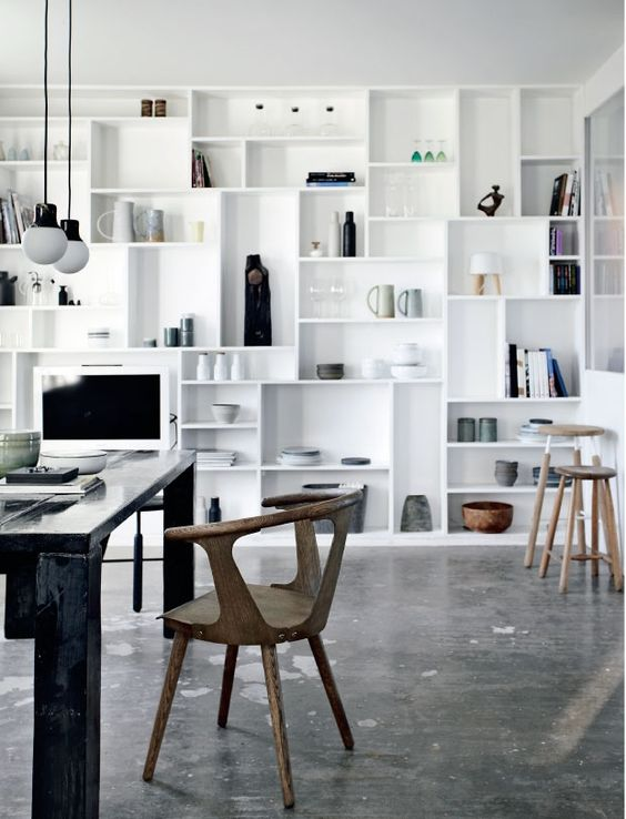 Alternative shelving