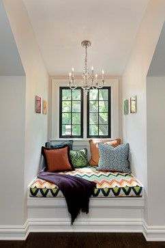Funky but still cosy window seat