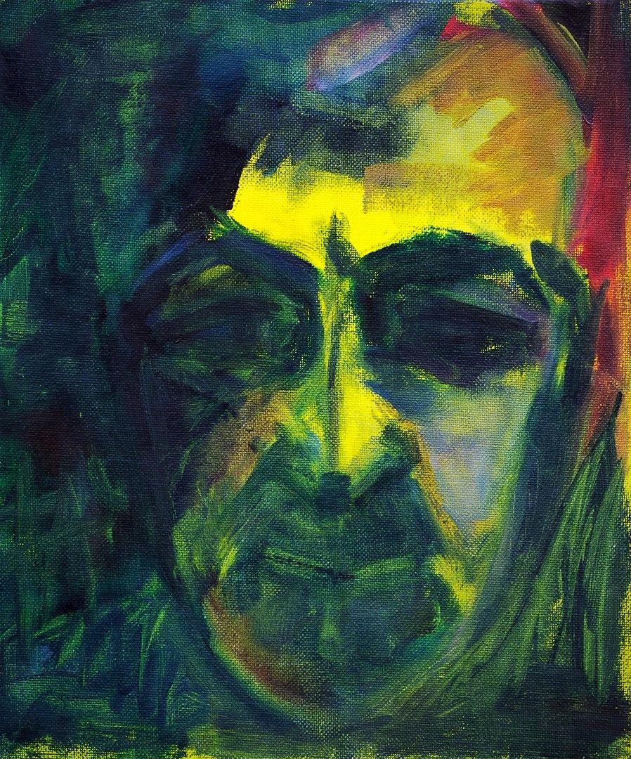 2017, 25 x 30.5 cm, Night Face, Oil on Canvas board_edited_edited