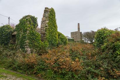 21. Kenidjack Mills, ruined buildings.