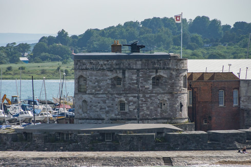 15. Calshot Castle: Solent/Southampton Water.