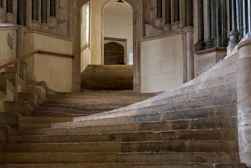 13. Chapter House steps – Wells Cathedral.