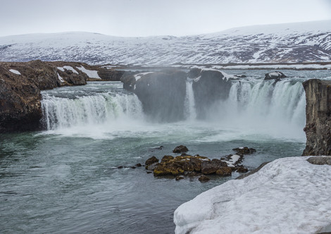 1. Godafoss on Skalfandafljot River.