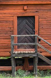 18. Barn/Granary door detail.