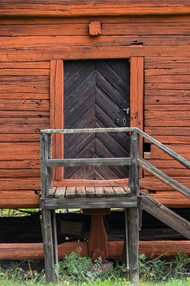 18. Barn/Granary door detail.