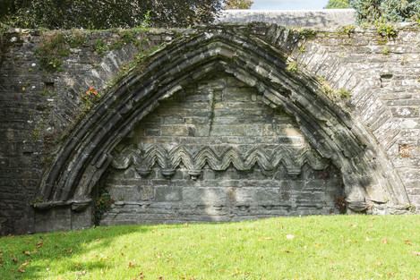4. Abbey Cloister remains.