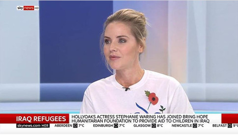 Actress Stephanie Waring - Sky News.jpg