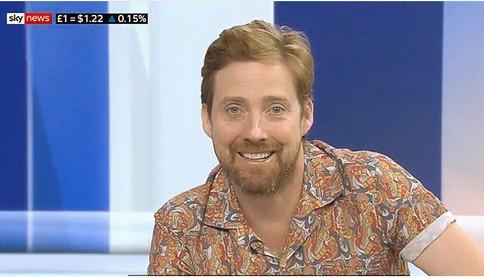 Rick Wilson - Kaiser Chiefs - Sky News.j