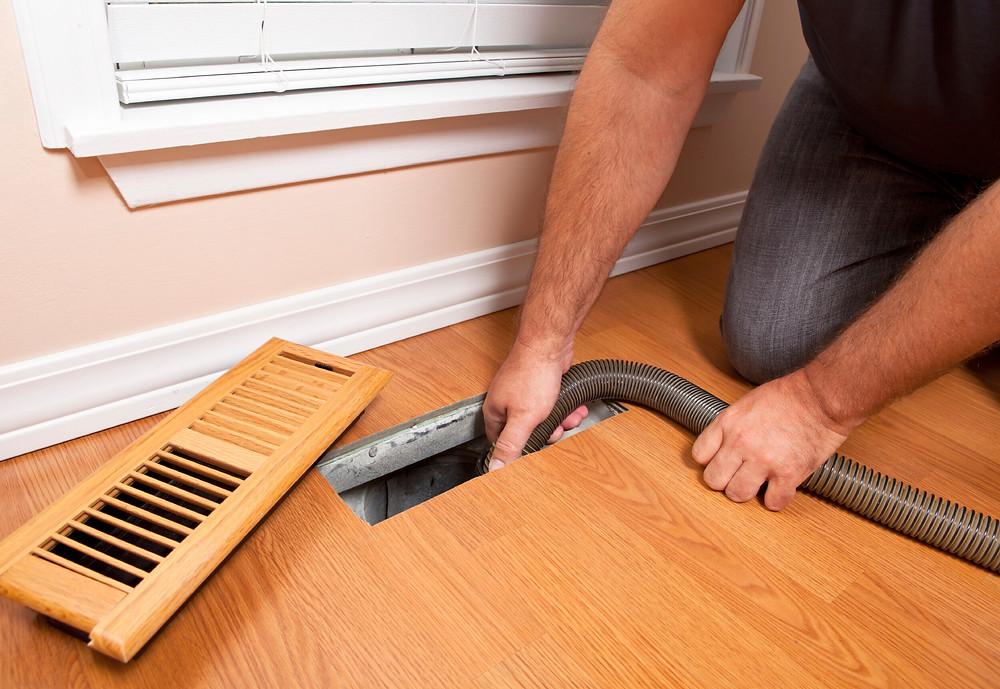 Clean your floor vents