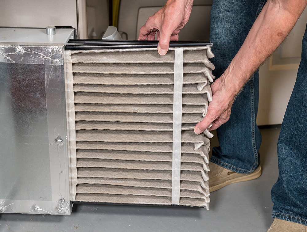 Changing out your furnace filter