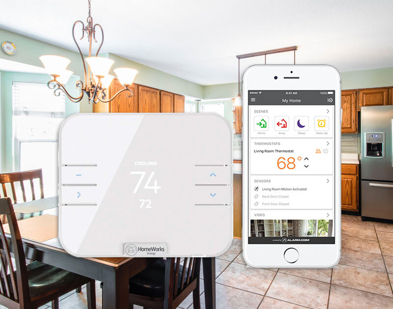 REAX Smart Home Solution by HomeWorks Energy