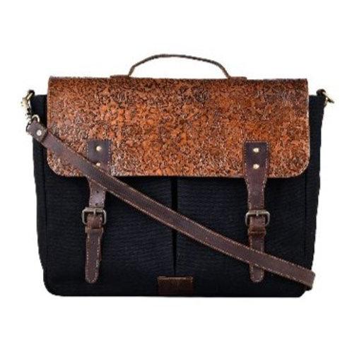 Carved Vintage Style Artist Bag