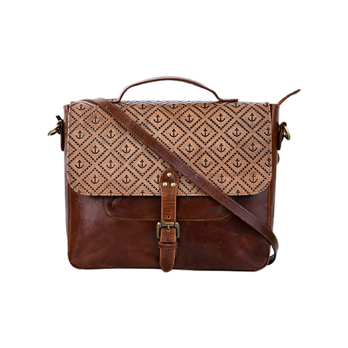 Carved Vintage Style Laptop Bags