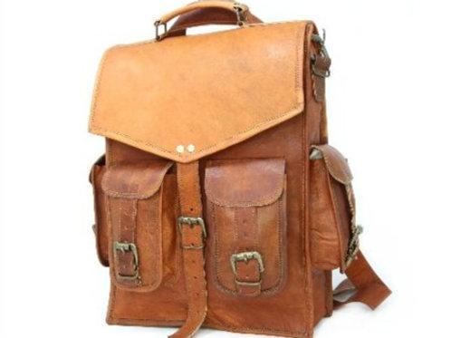 Four Pocket Vintage Style Backpack