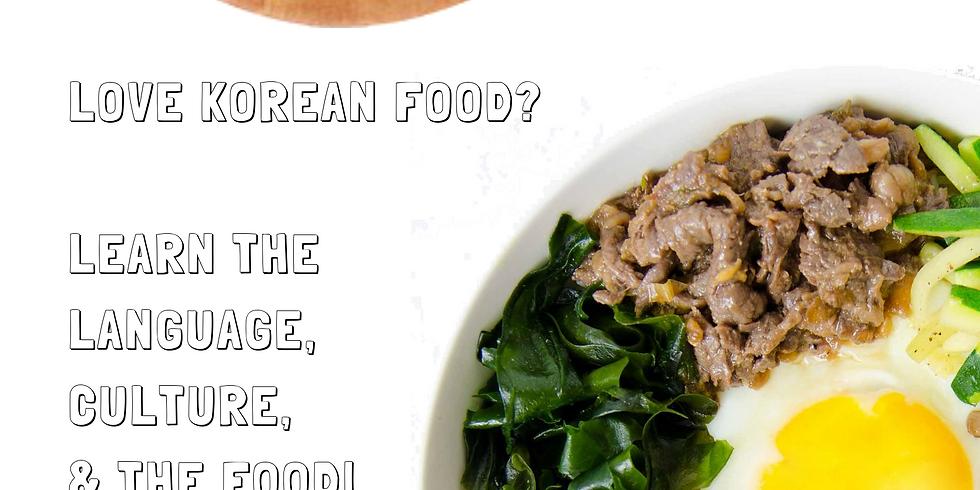 Korean Food & Language Class