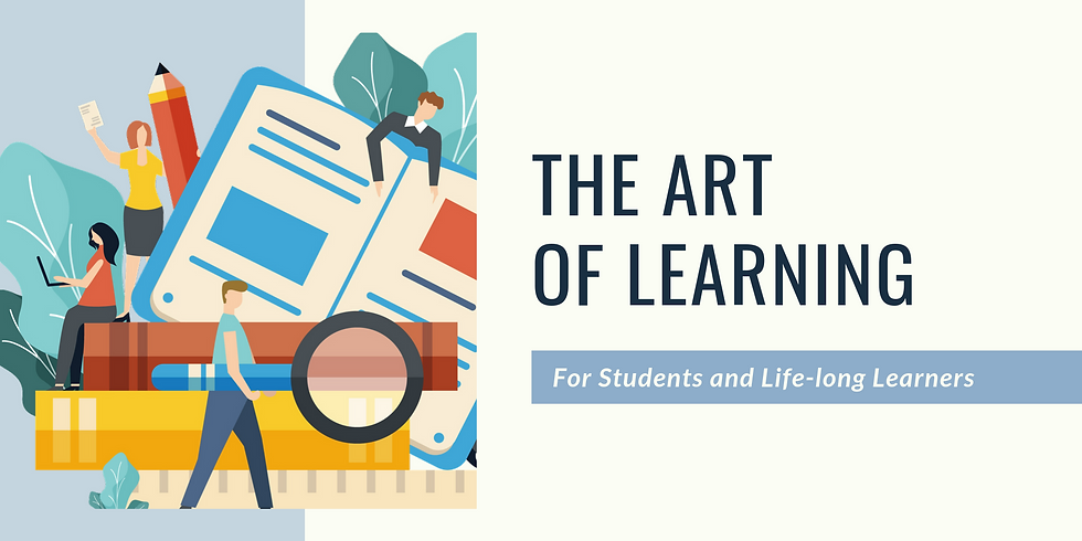 The Art of Learning Workshop