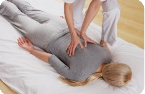 Shiatsu therapy sessions in London, therapist Simona Balint