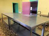 cuisine salle des fêtes de Pernay