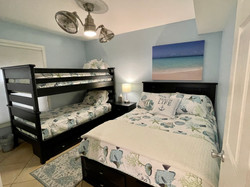 Guest bedroom with Full & Twin Bunk-Beds