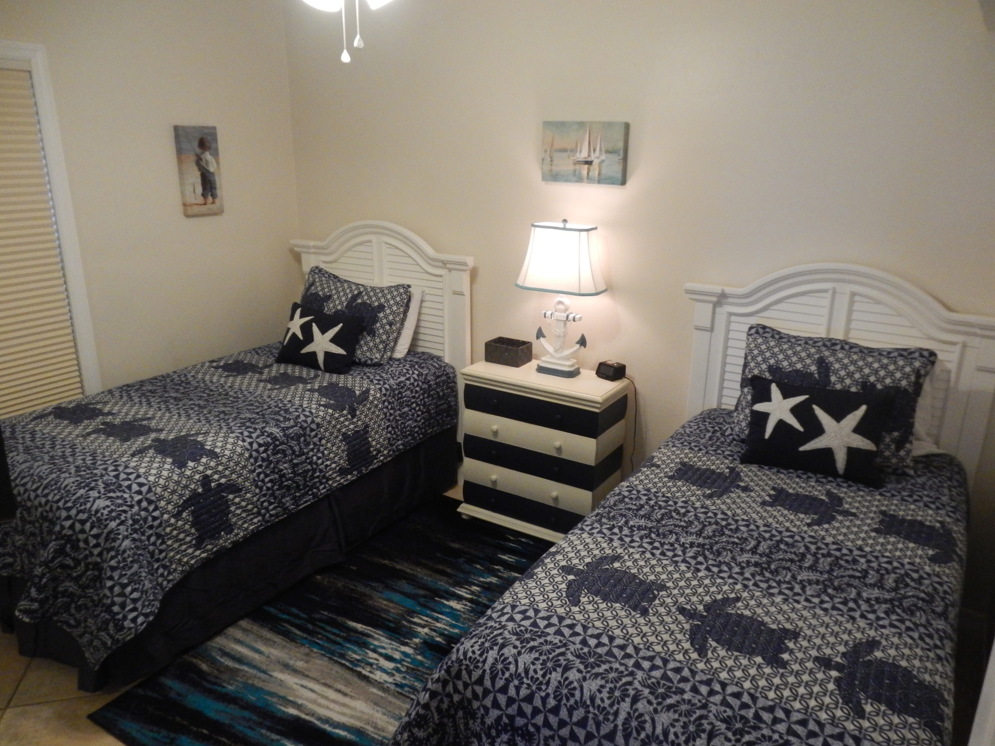 Guest with 2 Twin beds