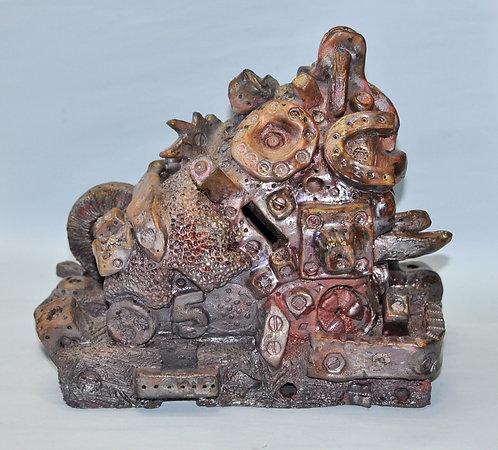 Escultura em cerâmica de Sueli Finoto, Casa de Máquinas de Sueli Finoto, decoração, objetos em cerâmica, loja online, artes,