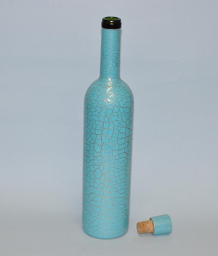 garrafa, garrafas, garrafa pintada, garrafa decorada. garrafa craquelada