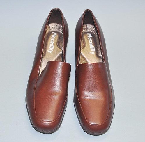 sapato marrom fechado feminino numero 36, sapatos.