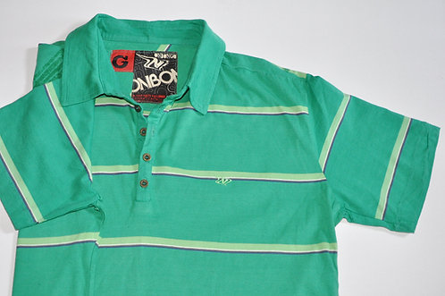 Camiseta masculina G listrada