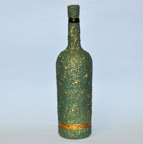 garrafa sevilha, garrafa decorada, Sueli Finoto artesanatos, Fase NOva art craft e ceramica, presentes, loja virtual de Sueli