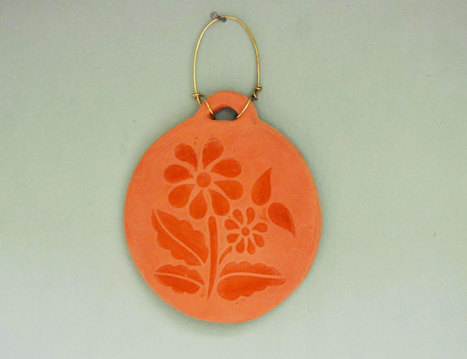 Mini quadrinho em cerâmica