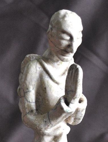 escultura de anjo, anjo antigo, esculturas de anjo de Sueli Finoto