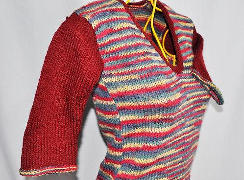 blusa de lãzinha mesclada tamanho PP é no Brechotreschic