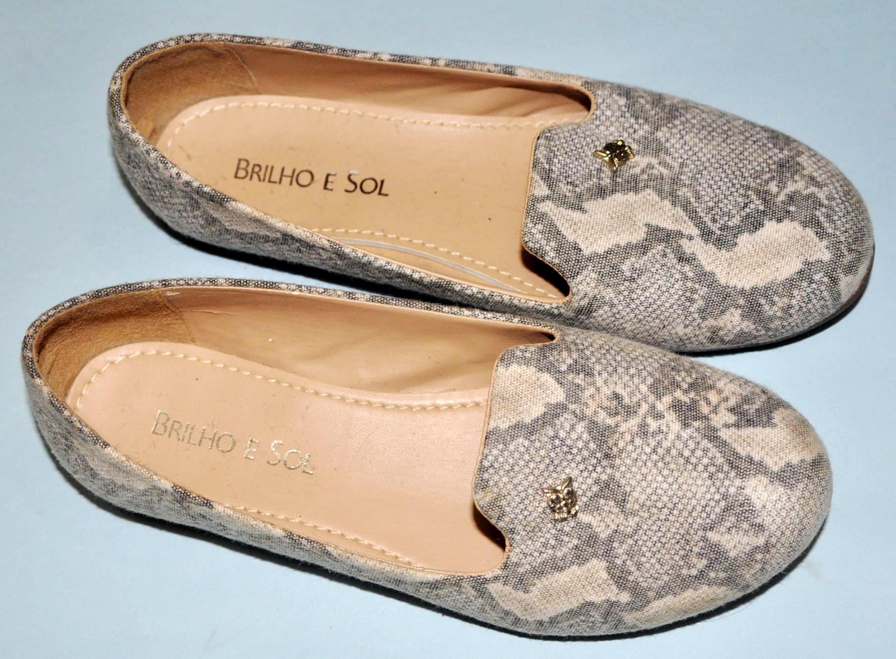 Sapato estampado