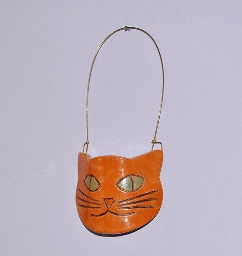 gato decorativo, gato, gatos, peça decorativa, objetos para decoração, presentes de gato, cerâmica artesanal, Sueli Finoto,